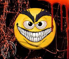 Cheshire Grin Emoji