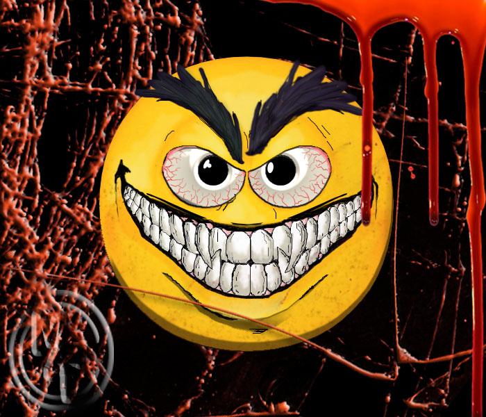 Cheshire Grin Emoji by kageryu