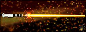 Lightsaber Flash - Orange