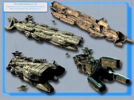 Andromeda III Flag Battleship