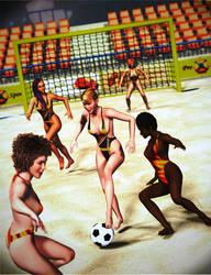 Beach Stadium Soccer for Dawn