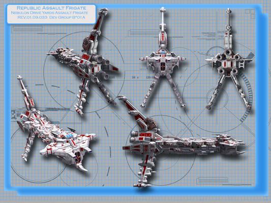 Republic Assault Frigate
