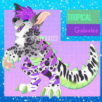 Tropical Galaxies adoptable! ((OPEN)) by WolfEva123-Adopts