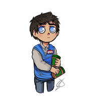Castiel/Steve by Spicefire