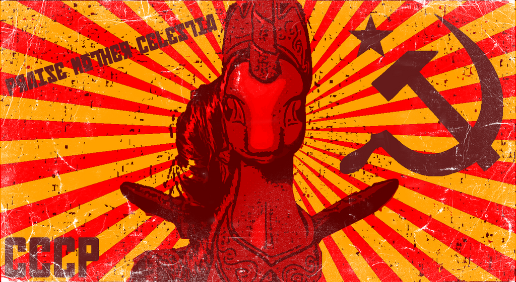 Red Mother Celestia by ZehFox