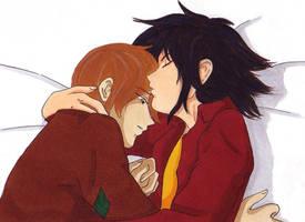 Sirius and Remus by Yamica