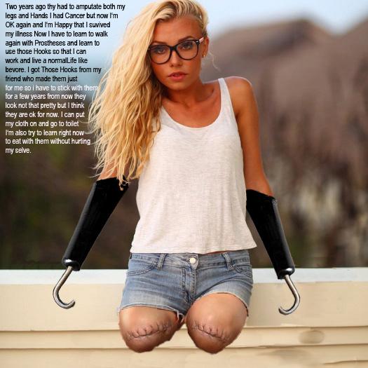 Beautiful Fresh DAK, DBE Blond Simple Hook Girl 1 By