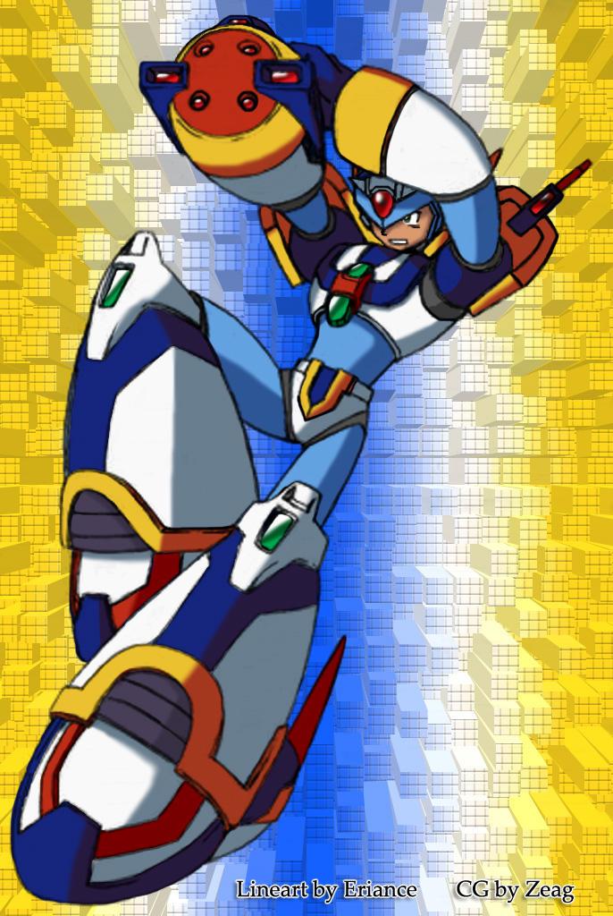 MegamanX Nova Armor - Eriance by Zeag
