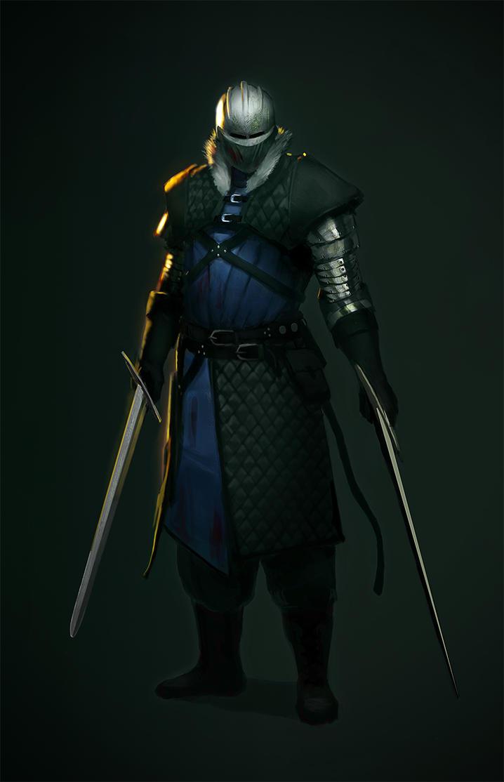Swordsman by TVviST