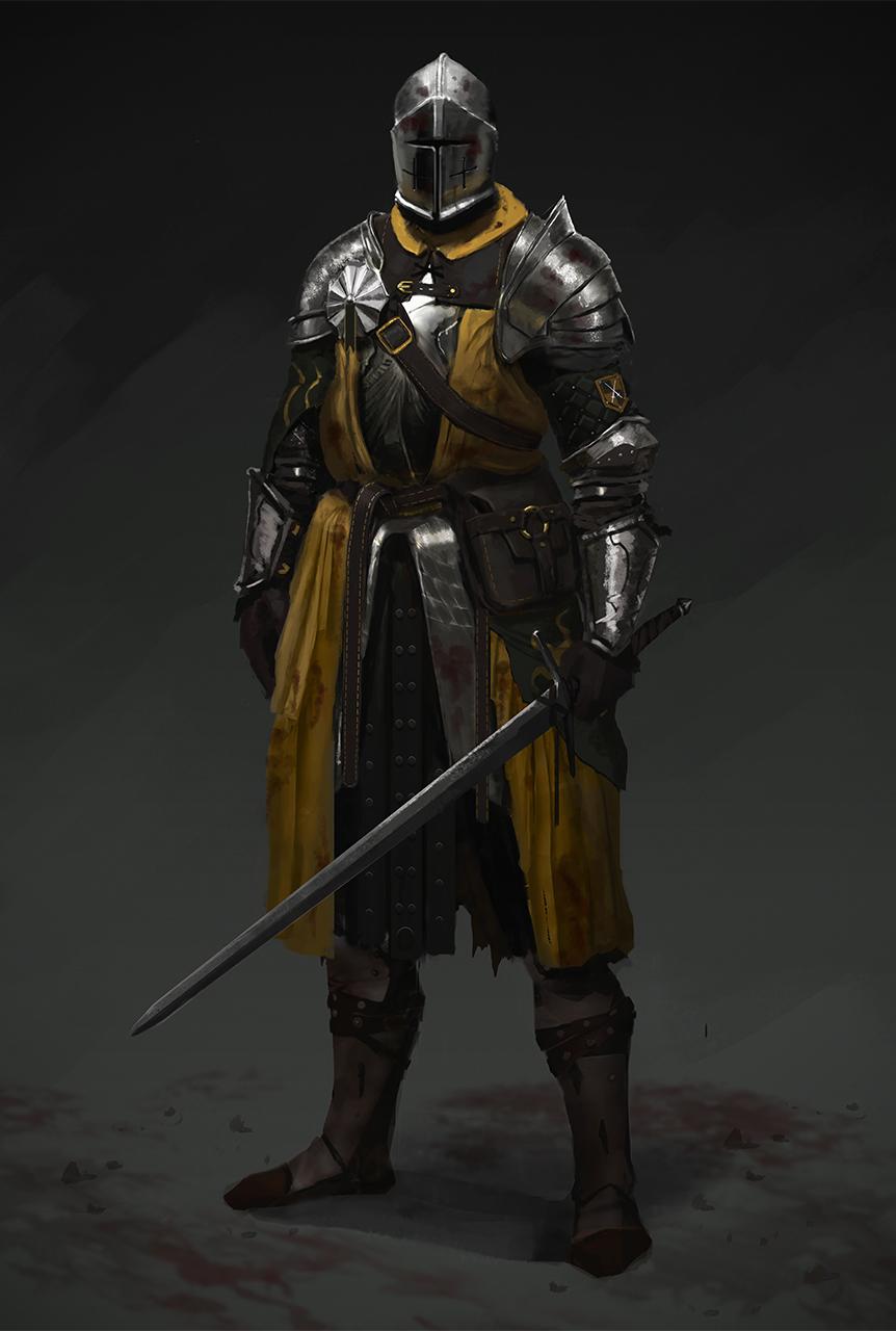 Mustard Knight by TVviST