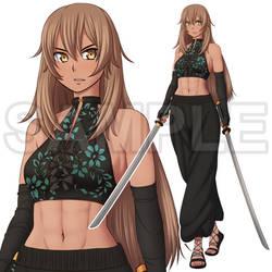 ADOPT - Swordswoman (closed)