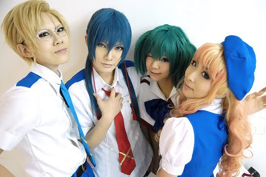 Macross Frontier Cosplay Group by touyahibiki