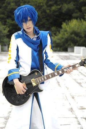 Kaito kun with guitar by touyahibiki