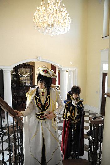 Lelouch and Suzaku by touyahibiki