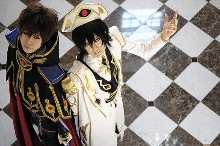 Suzaku and Touya by touyahibiki