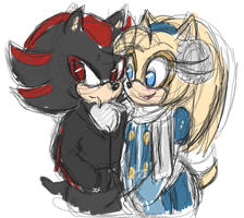 Shadow and Maria by Inimicaldolly