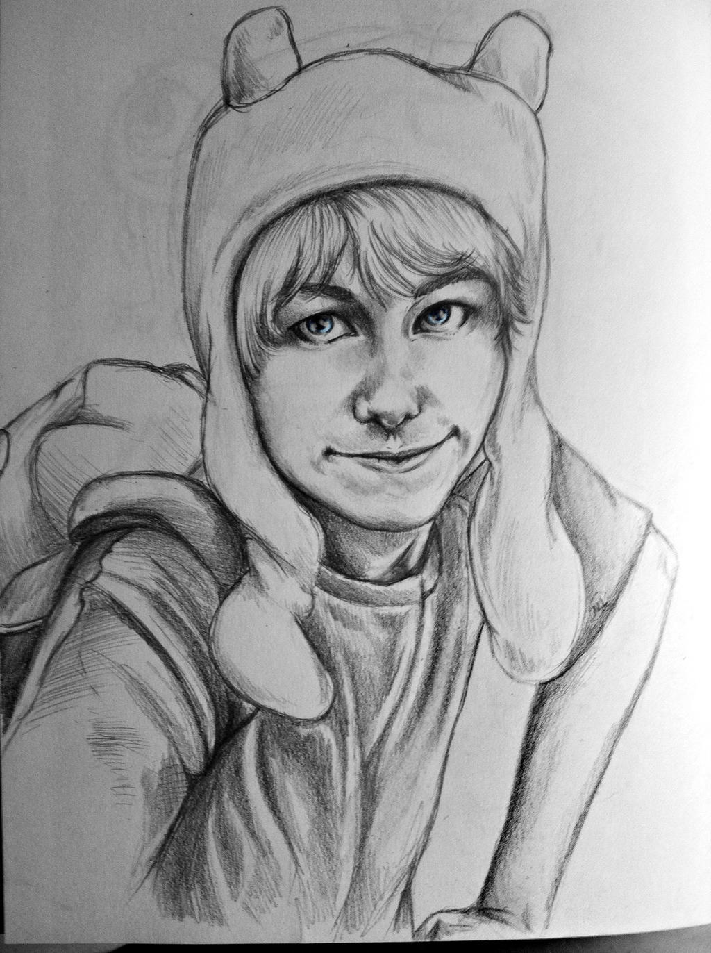 Adventure Time Kleurplaat Realistic Finn The Human By Michi1223 On Deviantart