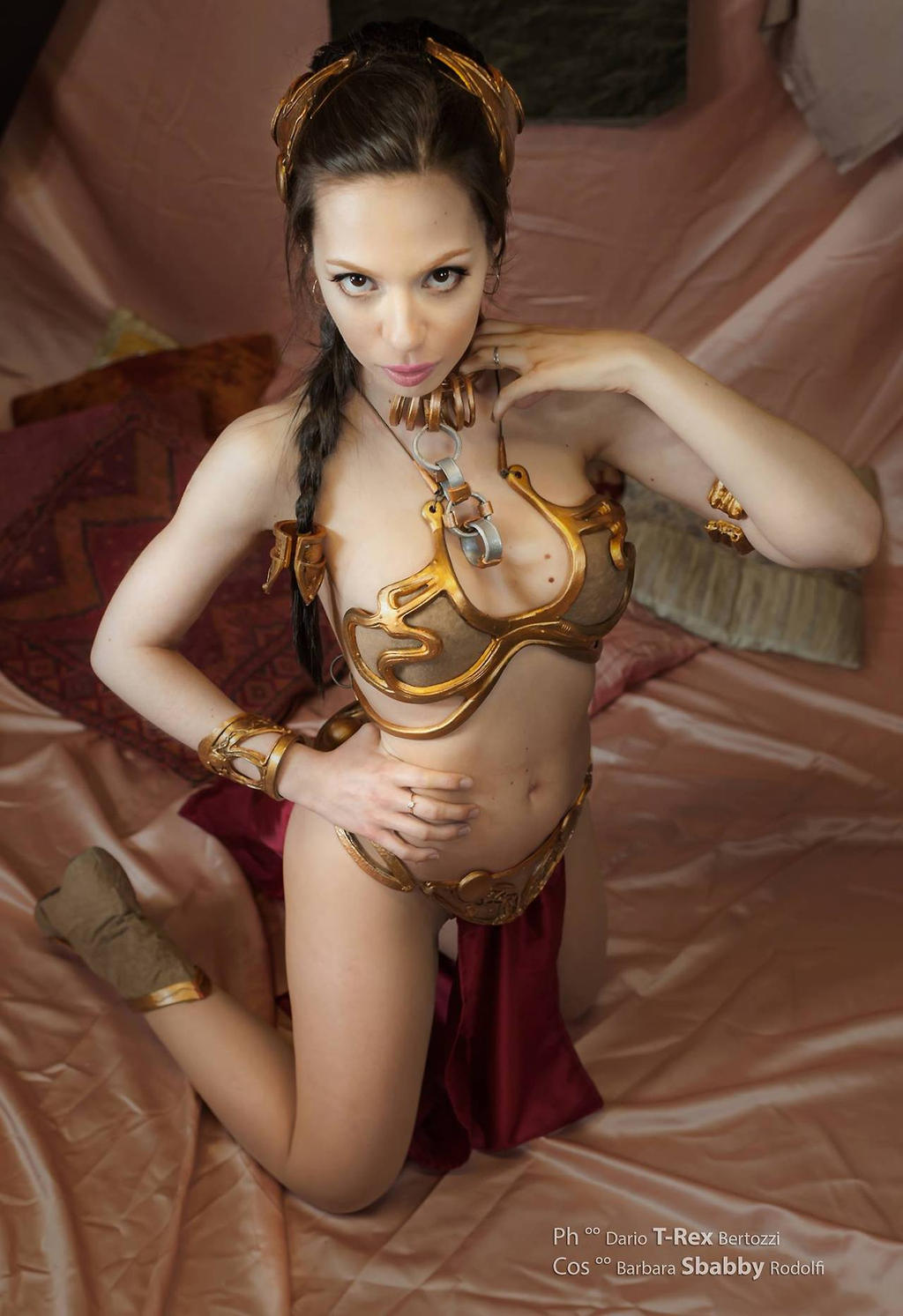 Leia Slave Cosplay by Sbabby