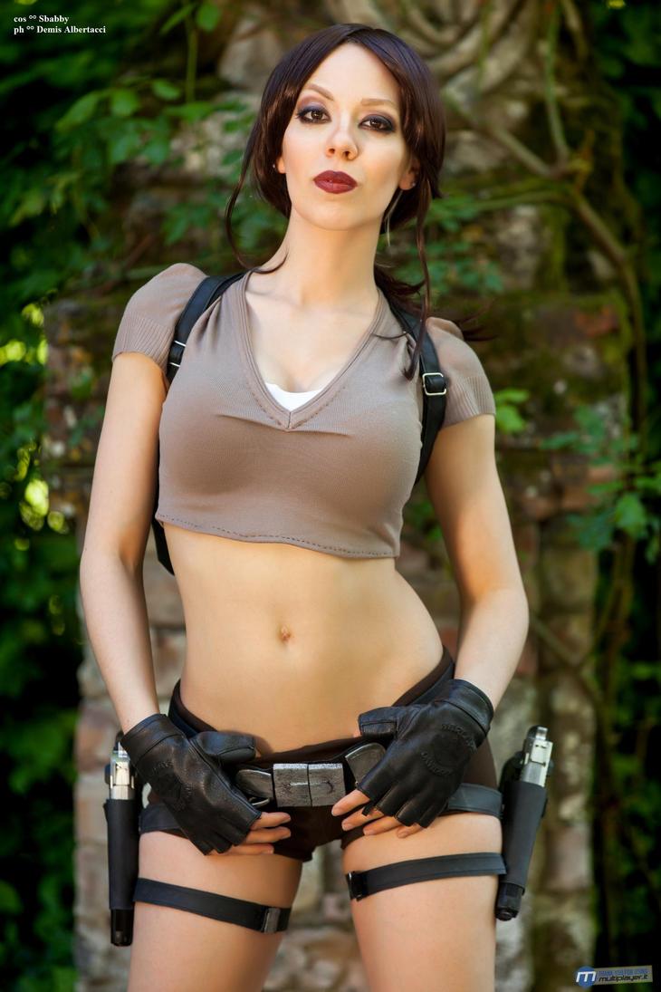 Lara Croft cosplay by Sbabby