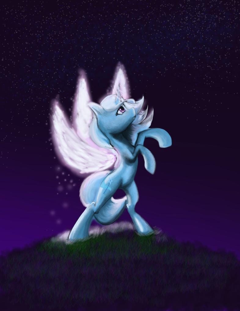 Starry trixie by gunslingerpen