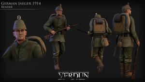 1914 German Jaeger
