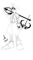 Rough Draw again by Wildchild090
