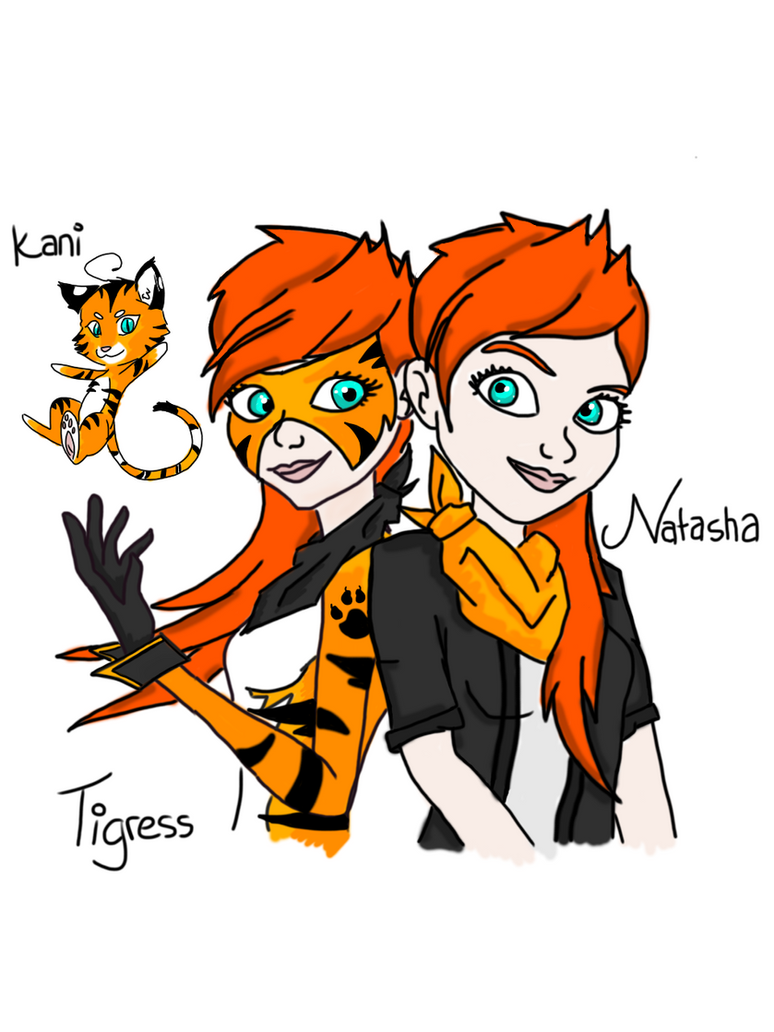 Miraculous Ladybug OC Drawing By NightTigress4 ...