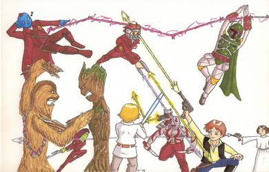 GotG vs Star Wars by Marle1010