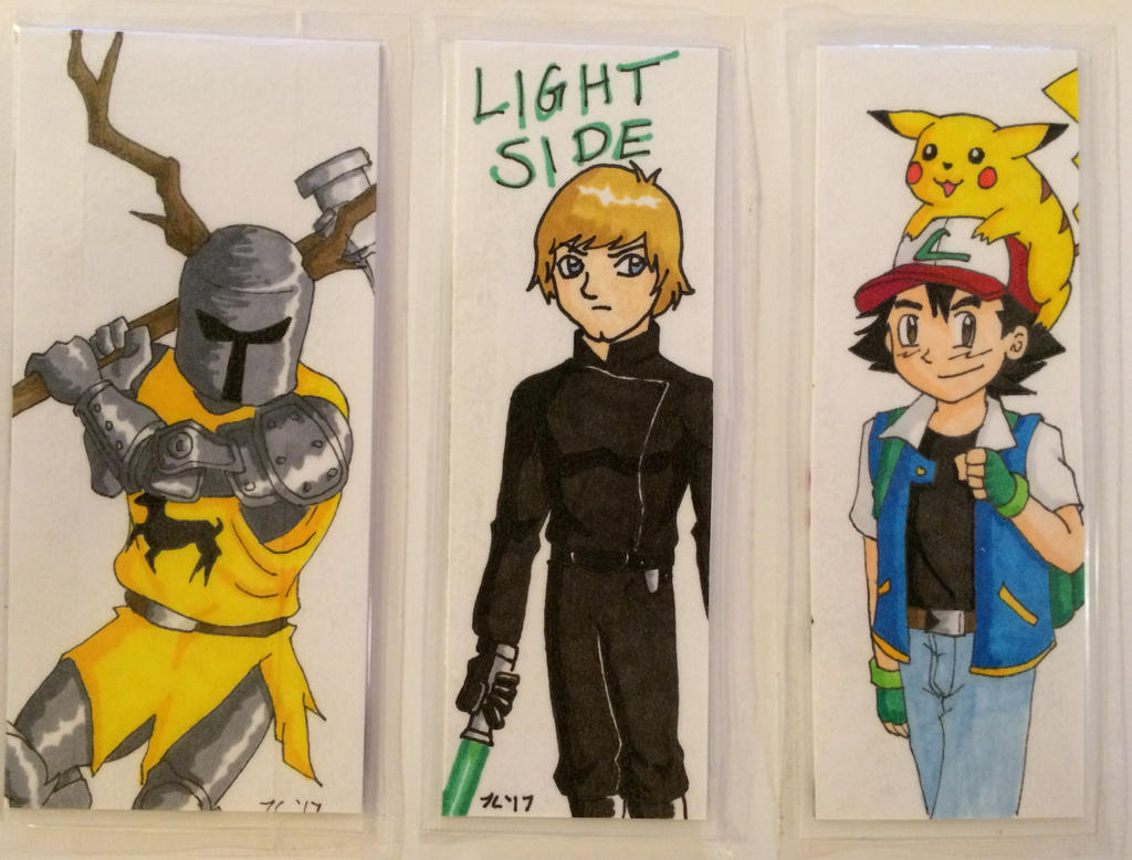 Bookmarks Side 2 by Marle1010