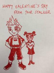 Valentines stalker by Marle1010