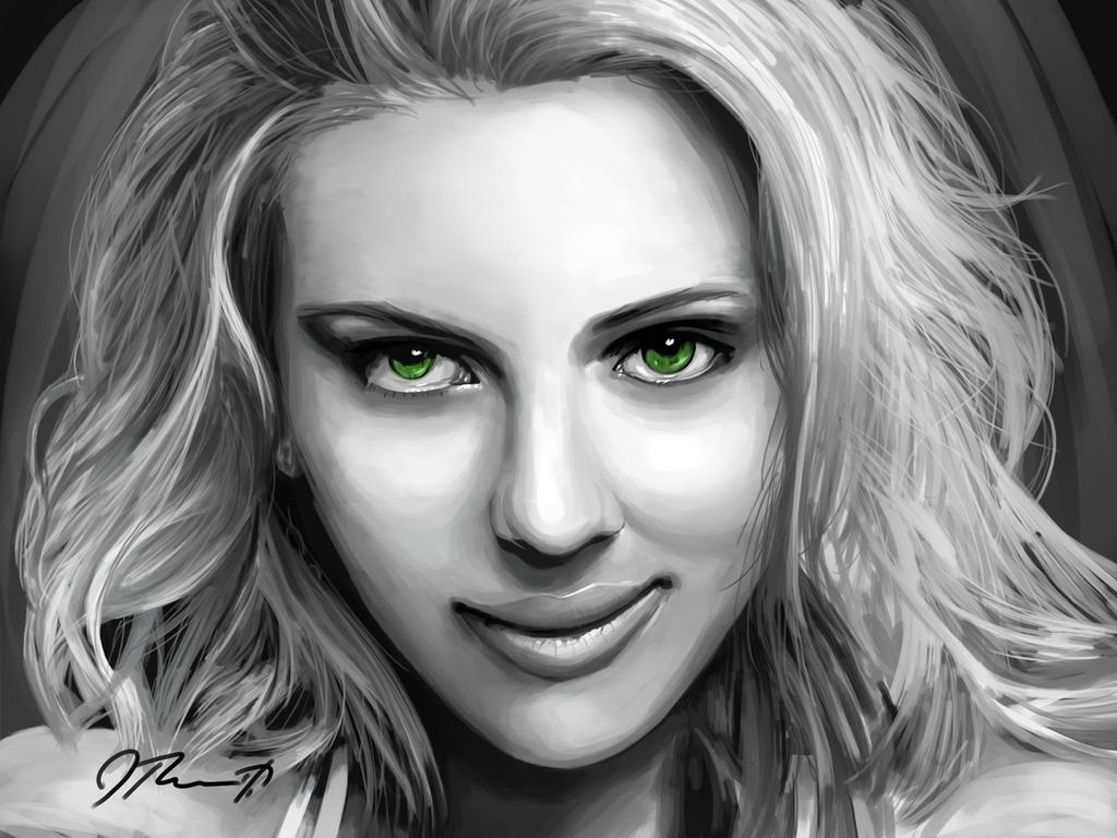Scarlett Johansson by Jeriv