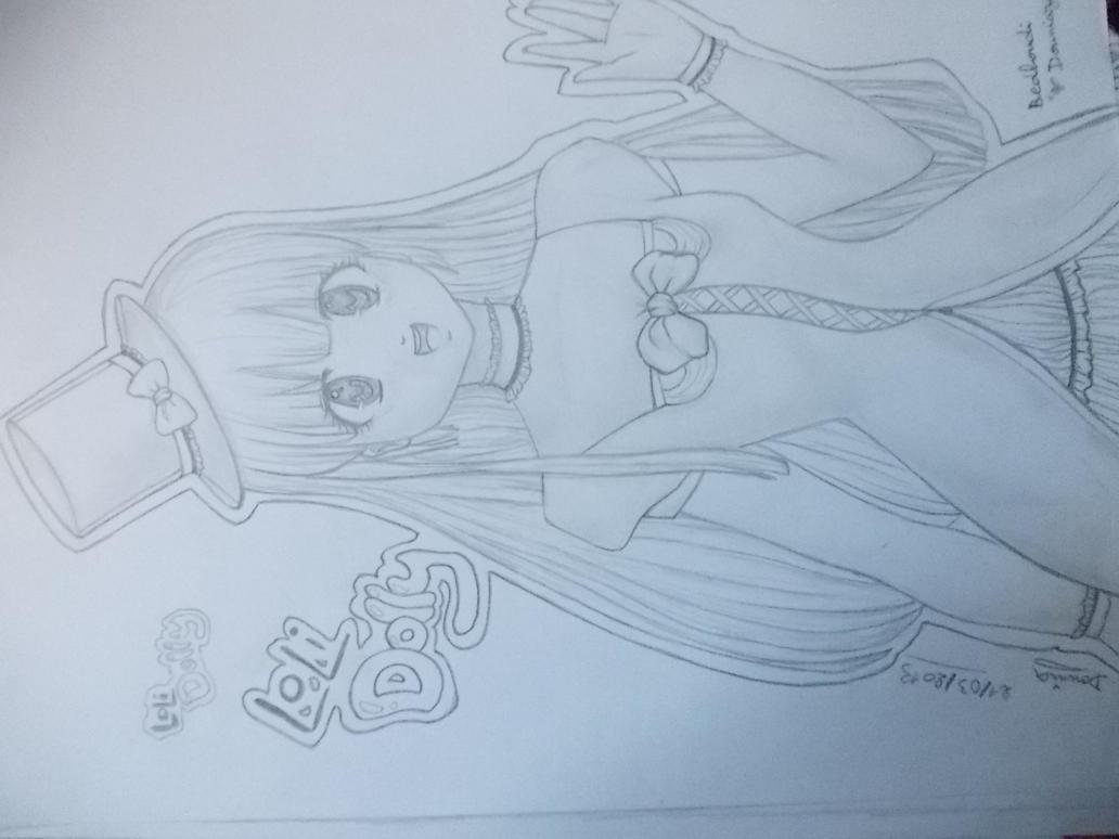 Loli Dolly anime girl by Doundou