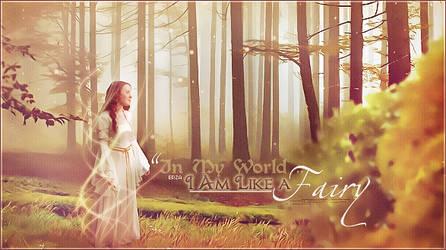 I'm Like A Fairy - manipulation design by Doundou