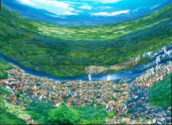 Crown City art by thundaflare