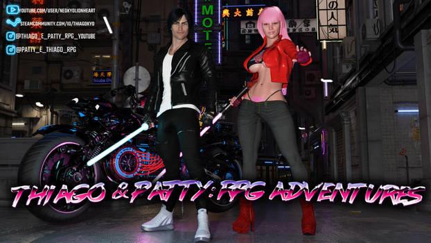 Thiago and Patty Cyberpunk Night City (YOUTUBE)