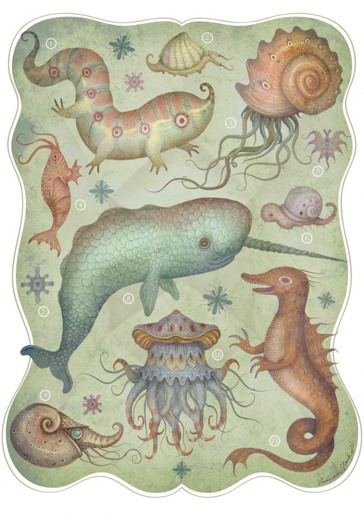 Creatures of the Deep Sea by V-L-A-D-I-M-I-R