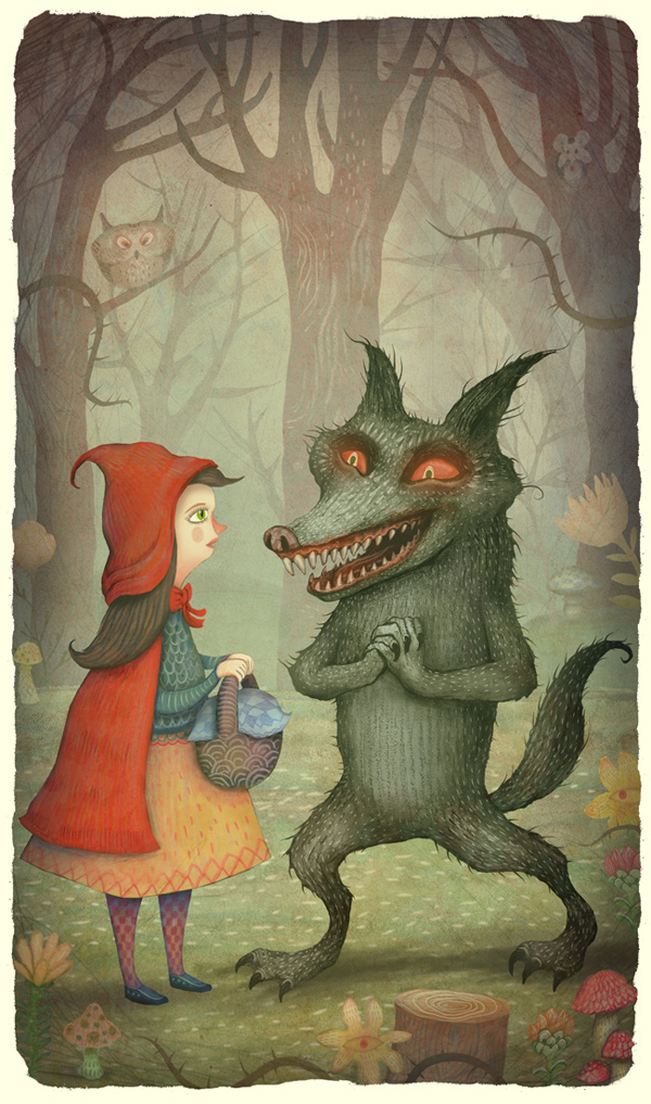 Little Red-Cap and the Wolf by V-L-A-D-I-M-I-R