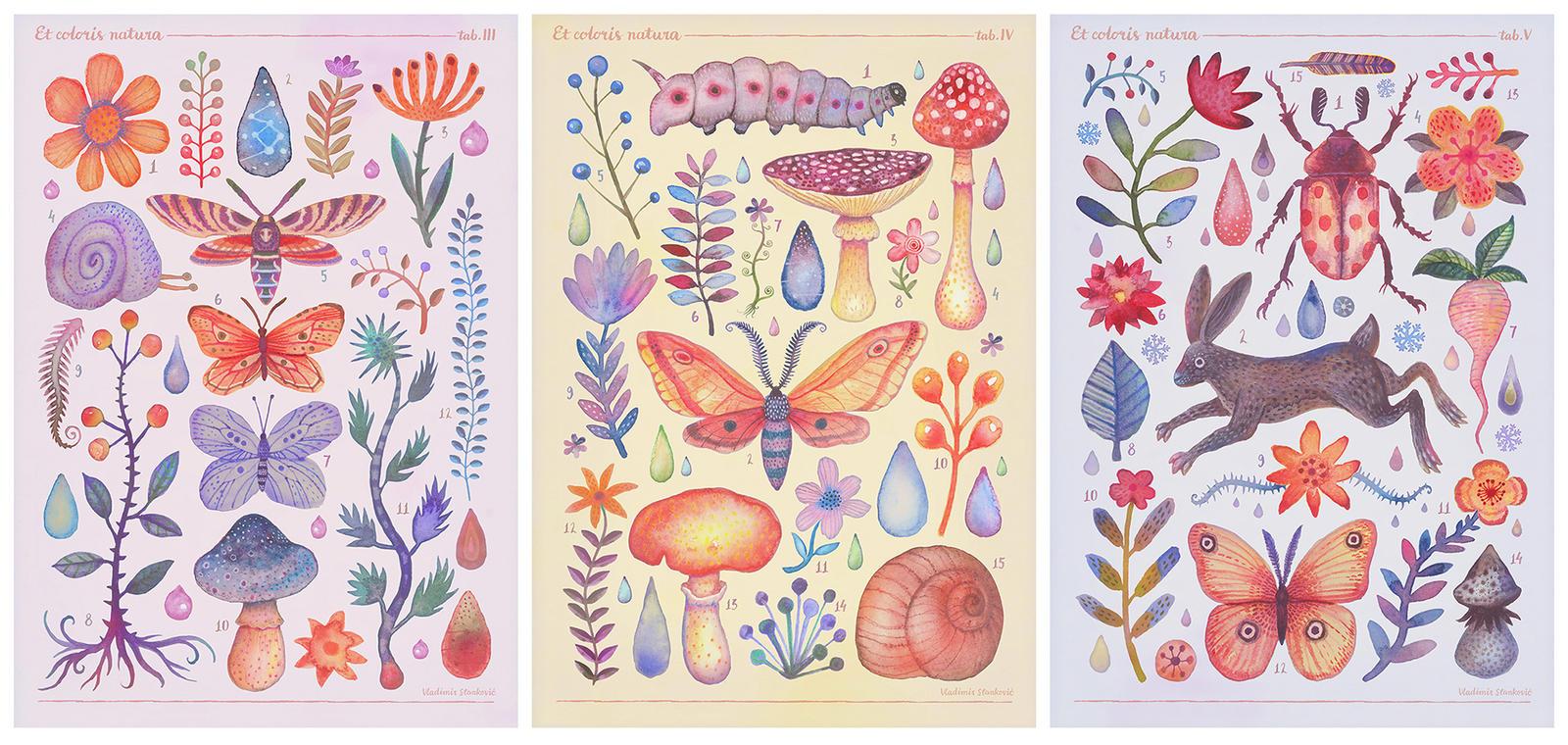 Et coloris natura III, IV and V by V-L-A-D-I-M-I-R
