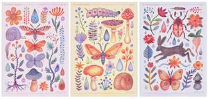 Et coloris natura III, IV and V