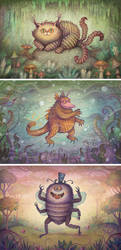 Magical Wild Things by V-L-A-D-I-M-I-R