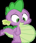 Spike eats Winona
