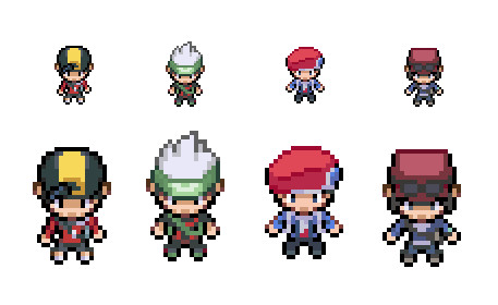 New Premium Avatar Sprites - Pokemon Legends