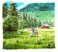 Watercolorsketch by Sapo85