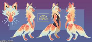 Citrus Fox Adopt (closed)