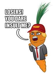 Screaming Carrot Demon
