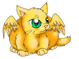 Fat Cat by MillyT