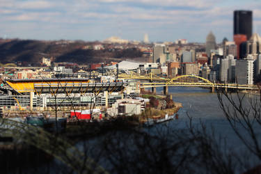 Pittsburgh, PA in Miniature 3 by MillyT