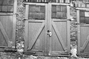 Black and White Doors