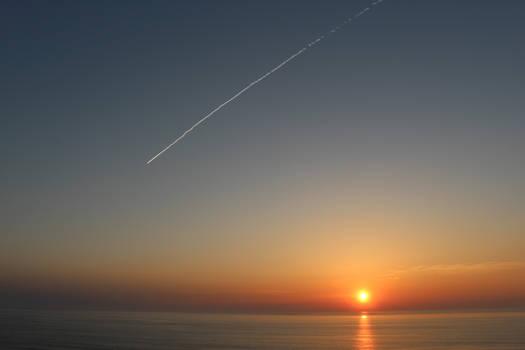 Sunrise and Jet Stream