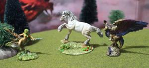 Dryad Unicorn Peryton